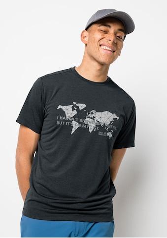 Jack Wolfskin T-Shirt »JWP WORLD T M« kaufen