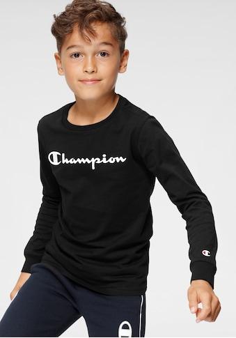 Champion Langarmshirt »LONG SLEEVE T-SHIRT« kaufen