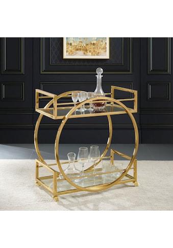 Leonique Servierwagen »Morren«, Zeitloses Design, Edelstahl kaufen