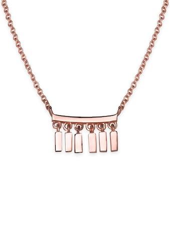 ROSEFIELD Kette mit Anhänger »Iggy Multi drop necklace rosegoldfarben, JMDNR - J052« kaufen