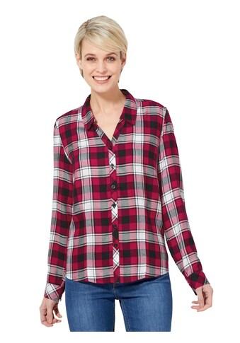 Casual Looks Bluse mit Karo - Muster kaufen