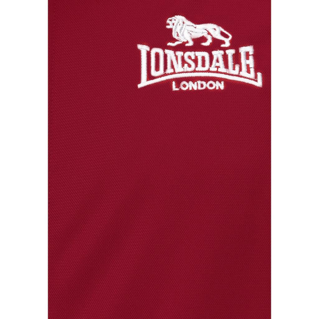 Lonsdale Trainingsjacke »CALSHOT«