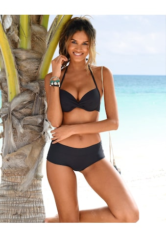 s.Oliver Beachwear Push-Up-Bikini-Top »Spain«, in Wickeloptik kaufen