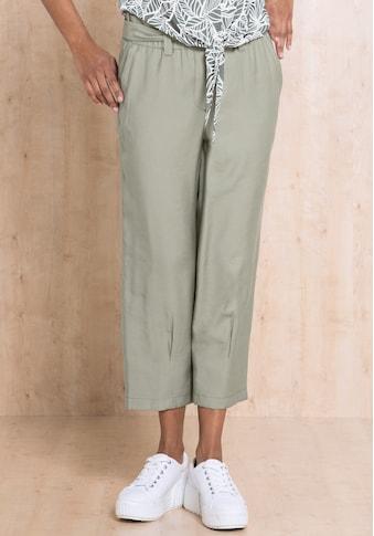 bianca Culotte »PARIGI«, mit Gürtel und stylischen Faltendetails kaufen