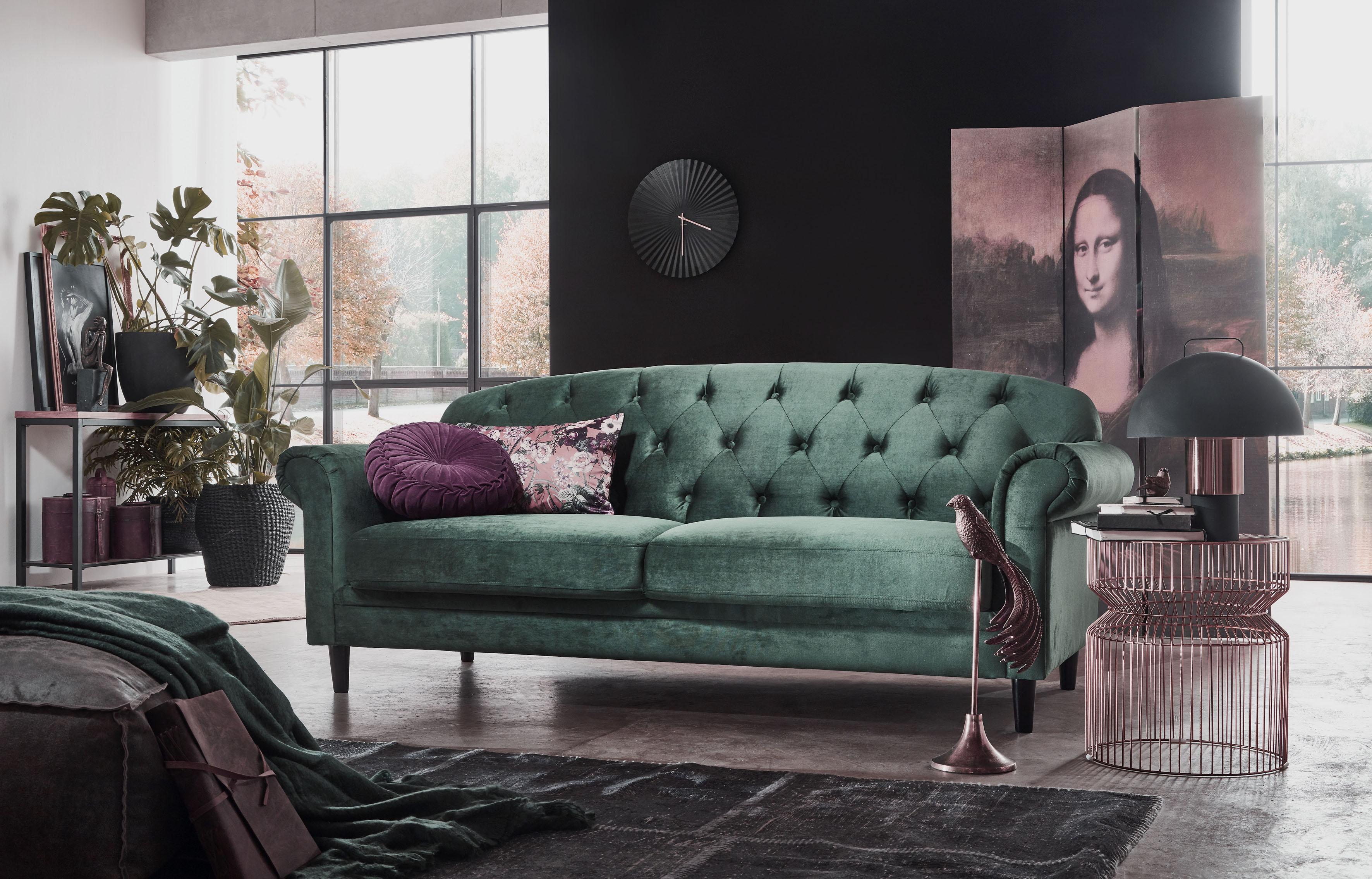 Image of ATLANTIC home collection 2-Sitzer, mit Stauraum unter der Sitzfläche