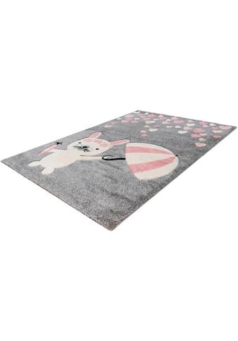 Kinderteppich, »Amigo 326«, LALEE, rechteckig, Höhe 15 mm, maschinell gewebt kaufen