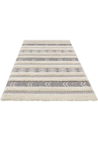 freundin Home Collection Teppich »Taza«, rechteckig, 35 mm Höhe, In- und Outdoor geeignet, Wohnzimmer kaufen