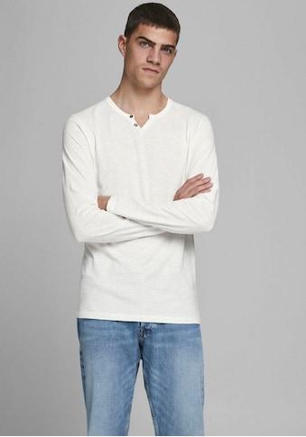 Jack & Jones Langarmshirt »SPLIT« kaufen