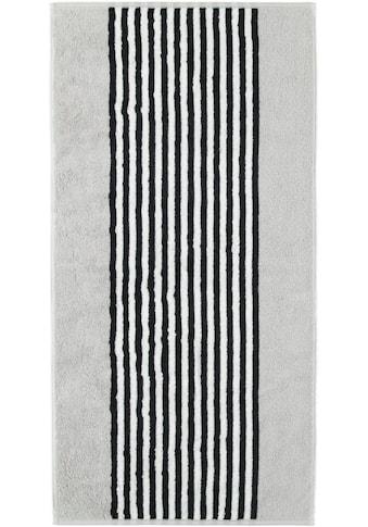 Cawö Badetuch »Black & White«, (1 St.), mit kontrastvollen Streifen kaufen