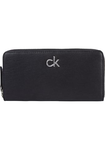 Calvin Klein Geldbörse »Z/A WALLET LG WAVE PU«, in schlichter Optik kaufen