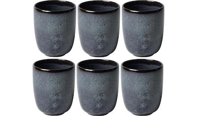 Villeroy & Boch Tasse »Lave«, (Set, 6 tlg.), 6 teilig kaufen