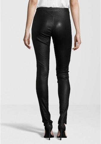 Gipsy Lederhose »Alara«, hochwertige Leder-Leggings mit seitlichem Reissverschluss am... kaufen