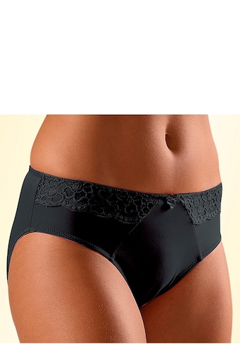 LASCANA Slip, mit seitlichen Spitzeneinsätzen kaufen