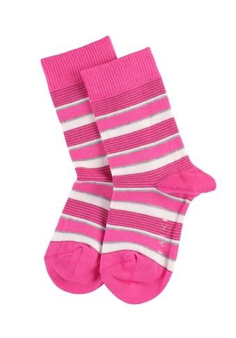 FALKE Socken »Mixed Stripe«, (1 Paar), mit Baumwolle kaufen