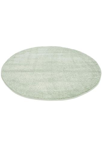 Teppich, »Moda Soft 2081«, Carpet City, rund, Höhe 11 mm, maschinell gewebt kaufen