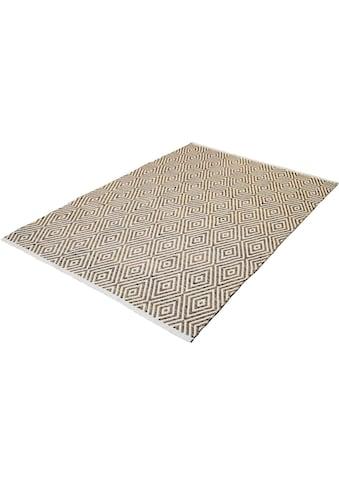 Teppich, »Luba 333«, calo - deluxe, rechteckig, Höhe 7 mm, handgewebt kaufen