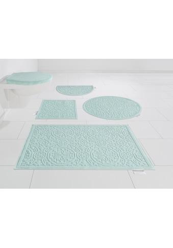 Guido Maria Kretschmer Home&Living Badematte »Garden Pastels«, Höhe 3 mm, fussbodenheizungsgeeignet, Pastell kaufen