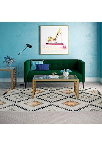 Teppich, »Bodrum Kilim«, CosmoLiving by Cosmopolitan, rechteckig, Höhe 8 mm, maschinell gewebt kaufen