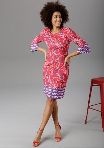 Aniston SELECTED Sommerkleid, mit Trompetenärmeln - NEUE KOLLEKTION kaufen