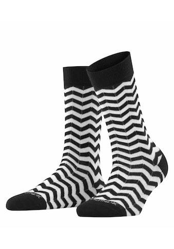 Burlington Socken Zig Zag Stripe (1 Paar) kaufen