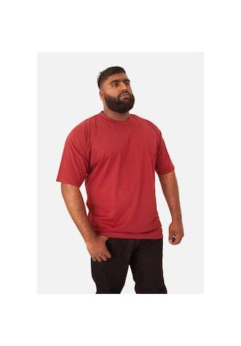 Duke Clothing T - Shirt »Herren Flyers - 2 mit Rundhalsausschnitt, Kingsize« kaufen