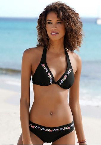 Buffalo Bügel-Bikini, mit Blumenstickerei kaufen