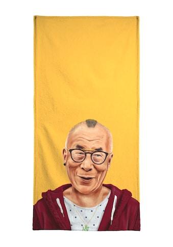 "Strandtuch ""Dalai Lama"", Juniqe kaufen"