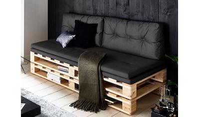 ATLANTIC home collection Loungesofa, Palettensofa, inklusive Bettfunktion kaufen