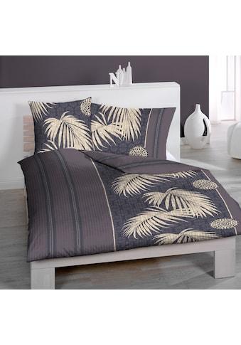 Seersucker - Bettwäsche, Home Fashion, »Palms B« kaufen