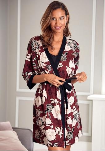 s.Oliver Kimono, mit Blumen-Dessin kaufen