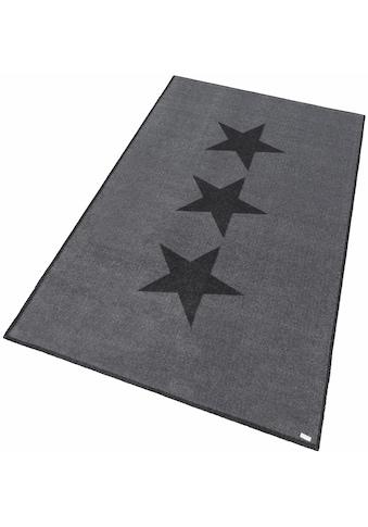 Teppich, »Sterne«, Zala Living, rechteckig, Höhe 7 mm, maschinell getuftet kaufen