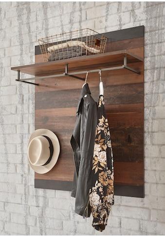 Home affaire Garderobenpaneel »Brooklyn«, in dekorativer Rahmenoptik kaufen