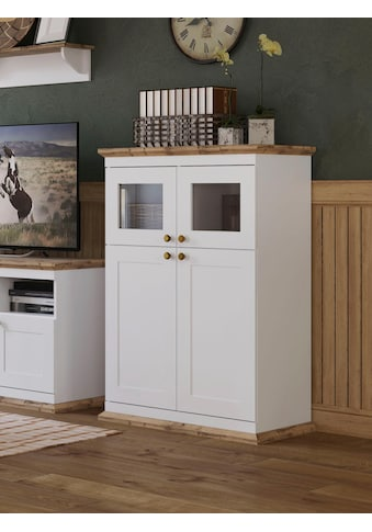 Home affaire Highboard »Banburry«, 4-türig, 83 cm breit kaufen