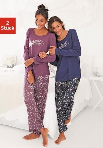 Vivance Dreams Pyjama, mit Sternenprint kaufen