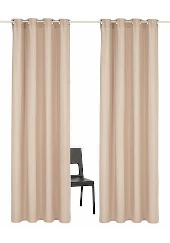 Vorhang, »Parry«, Home affaire, Ösen 2 Stück kaufen