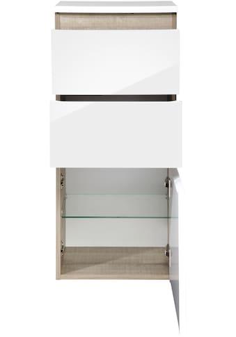 FACKELMANN Midischrank »Piuro«, H/B/T: 89,5 x 40,5 x 30,5 cm, 2 Schubladen, 1 Tür kaufen