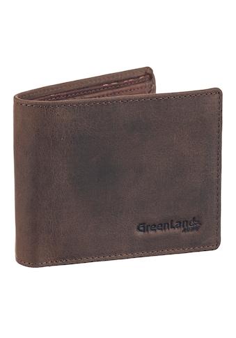 GreenLand Nature Geldbörse »NATURE leather-cork«, mit Sicherheitsschutz kaufen