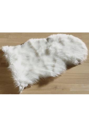 Fellteppich, »Schaffell Imitat«, Böing Carpet, fellförmig, Höhe 55 mm, maschinell gewebt kaufen