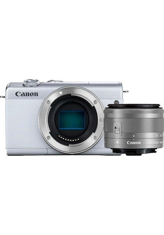 Canon Systemkamera »EOS M200 EF-M 15-45mm f3.5-6.3 IS STM Kit«, EF-M 15-45mm f/3.5-6.3 IS STM, Bluetooth-WLAN (Wi-Fi) kaufen
