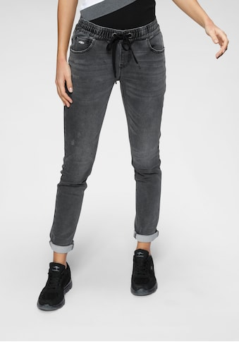 KangaROOS Jogg Pants, in Denim-Optik mit elastischem Bündchen kaufen