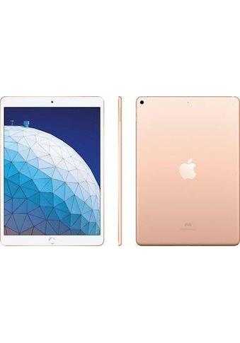 iPad Air Wi - Fi + Cellular, 64 GB, Apple, »space grau, 10.5 Zoll« kaufen
