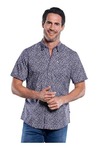 Engbers Modische Comfort - Stretch - Hemd mit Libellen - Print kaufen