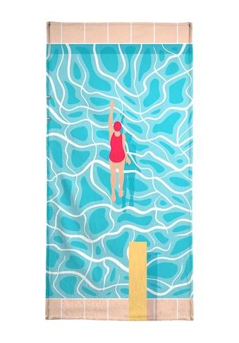"""Strandtuch """"Pool"""", Juniqe kaufen"""