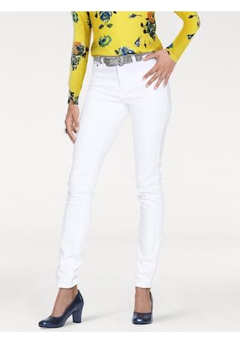 LINEA TESINI by Heine Skinny-fit-Jeans, mit Push-up Effekt kaufen