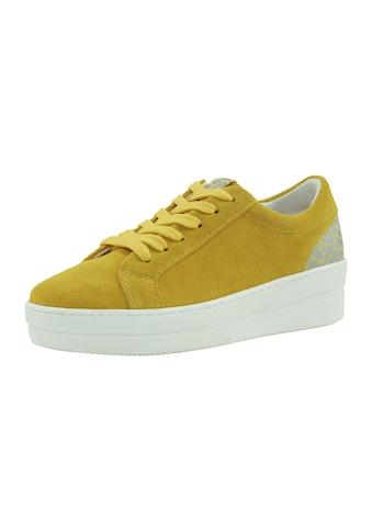 Heine Plateau Sneaker aus Veloursleder kaufen