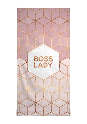 "Handtuch ""Boss Lady"", Juniqe kaufen"
