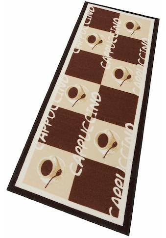 Küchenläufer, »Cappuccinio«, Andiamo, rechteckig, Höhe 5 mm, maschinell getuftet kaufen