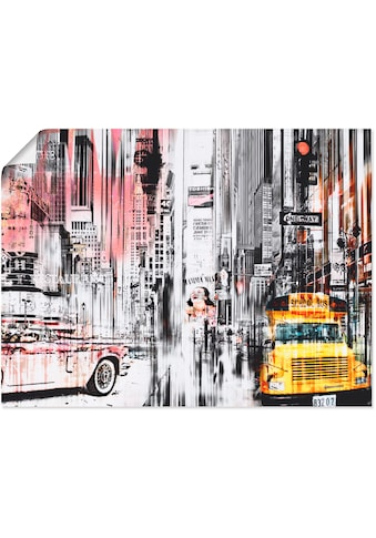 Artland Wandbild »New York Skyline Collage« kaufen