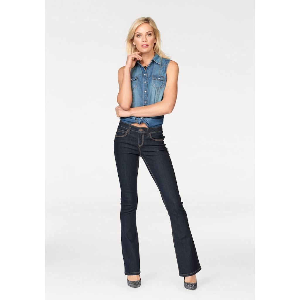 Arizona Bootcut-Jeans »Shaping«, Mid Waist