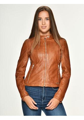 MUSTANG Lederjacke mit Schnallen »Marianne« kaufen